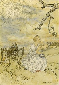 The Embarrassing Incident of Little Miss Muffet by Guy Wetmore Carryl