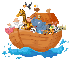 Old Noah's Ark poem by Anonymous