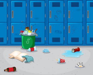 The Locker Mess Monster by Neal Levin